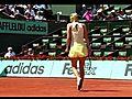 YouTubeMariaSharapovaVsMirjanaLucicRolandGarros20111stRoundHighlightsflv