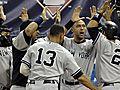 YankeesBeatTwins41SweepALDS