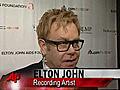 SirEltonJohnRaisesMoneytoFightAIDS