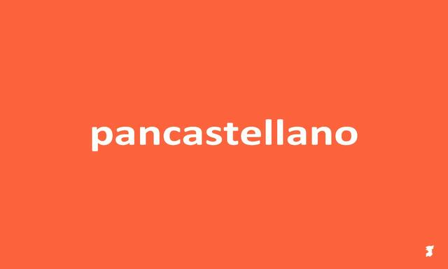 Pancastellano