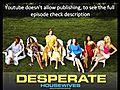 DesperateHousewivesSeason4Episode12345