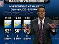 WeatherupdateRaidersvstheBroncos