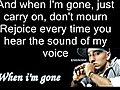EminemWhenImGoneLyrics