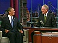 ObamaTalksEconomyWithLetterman