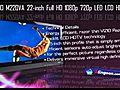 VIZIOM220VA22inchFullHD1080p720pLEDLCDHDTV