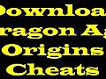 DownloadDragonAgeOriginsLatestCheatCodesGames