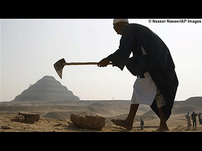 RarelookinsideEgyptianpyramids