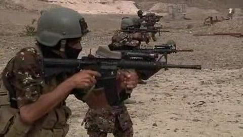 AntiterrorismsquadtrainsinYemen