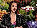 GinoInterviewsActressJessicaAlbaAbout039ValentinesDay039