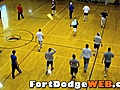 IowaEagles03910FootballTryoutWarmUpsatFDRecCenter