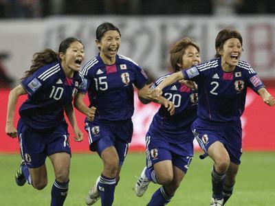 JapanwinsWomensWorldCupsoccertitle