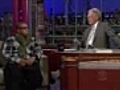 NEWJayZOnDavidLetterman2010English