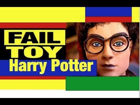 HarryPotterDollsFailToyReviewbyMikeMozartJeepersMediaPuppetSortingHattoo
